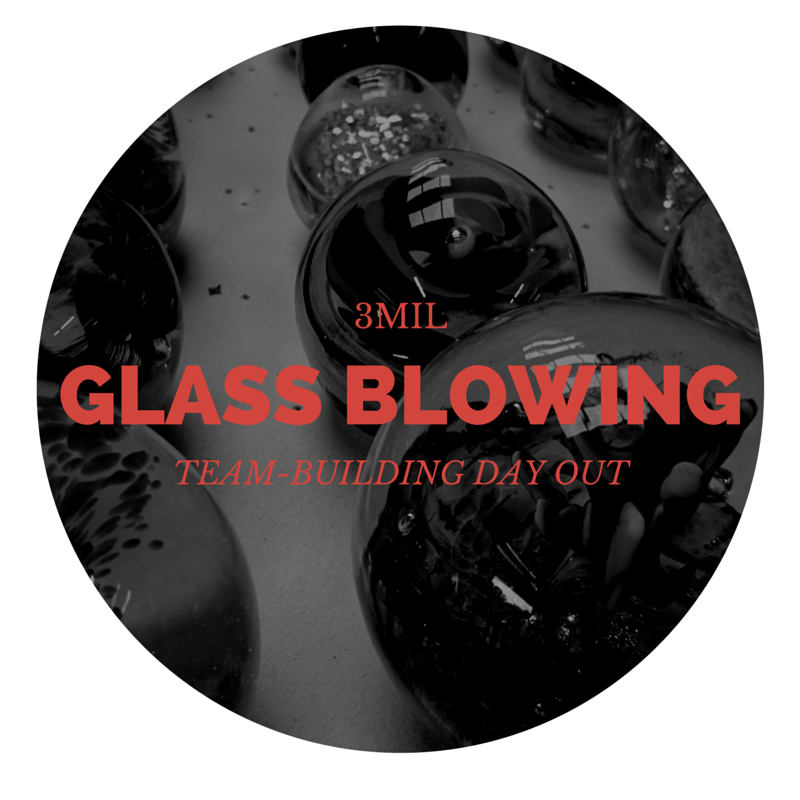 Team Building and Glass Blowing